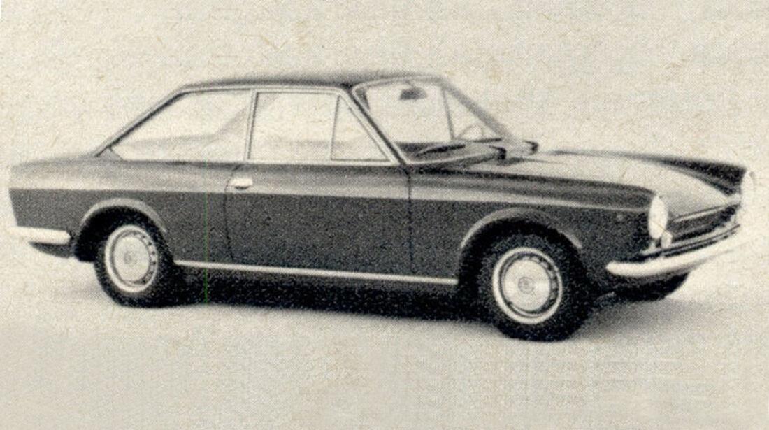 Fiat, 124 Sport, Coupé, IAA 1967