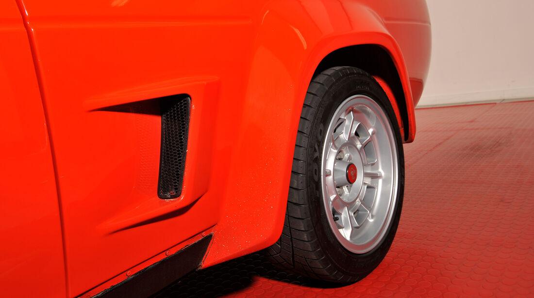 Fiat 131 Abarth, Rad, Felge
