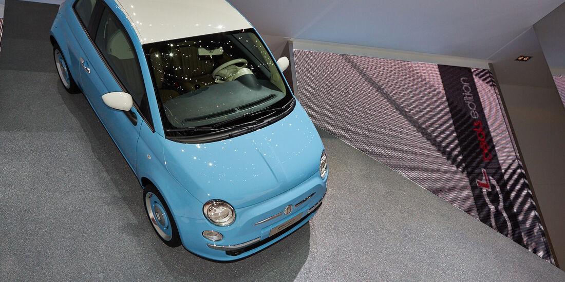 Fiat 500 Avenue, Genfer Autosalon, Messe, 2014