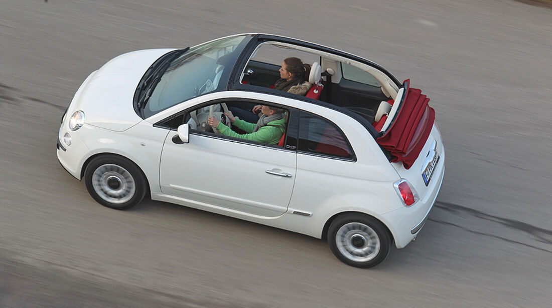Fiat 500 C, Cabrio, Faltdach