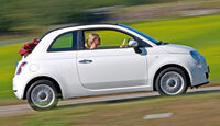 Fiat 500 C, Seitenansicht