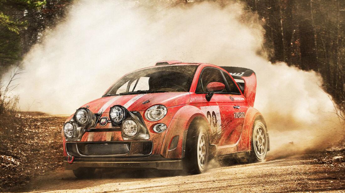 Fiat 500 - Moderne Rallye-Legenden