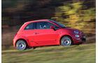 Fiat 500, Seitenansicht