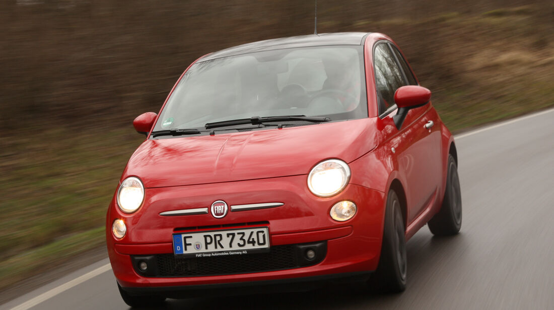 Fiat 500 Twin Air, Frontansicht