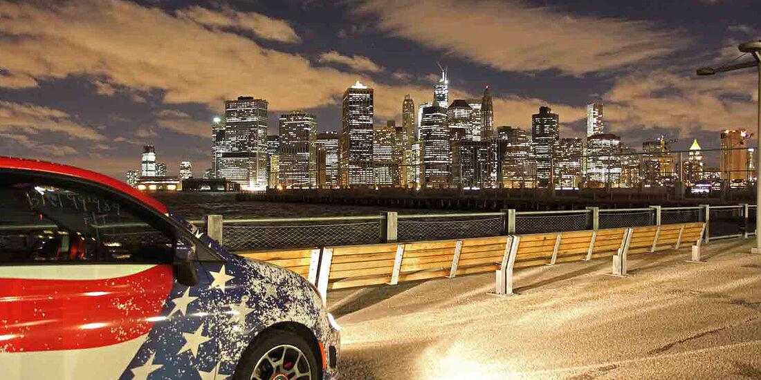 Fiat 500, USA , Reportage,  Teil 7