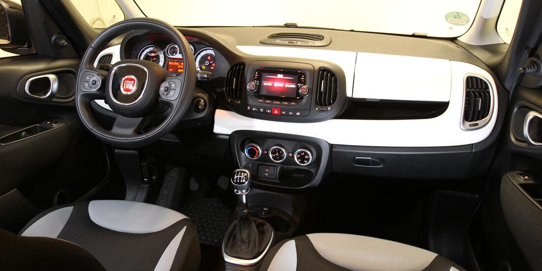 Fiat 500L 1.4 16V Pop Star, Cockpit