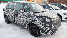 Fiat 500L Facelift Erlkönig