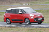 Fiat 500L Living, Frontansicht