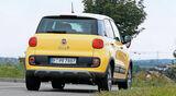 Fiat 500L Trekking, Heckansicht
