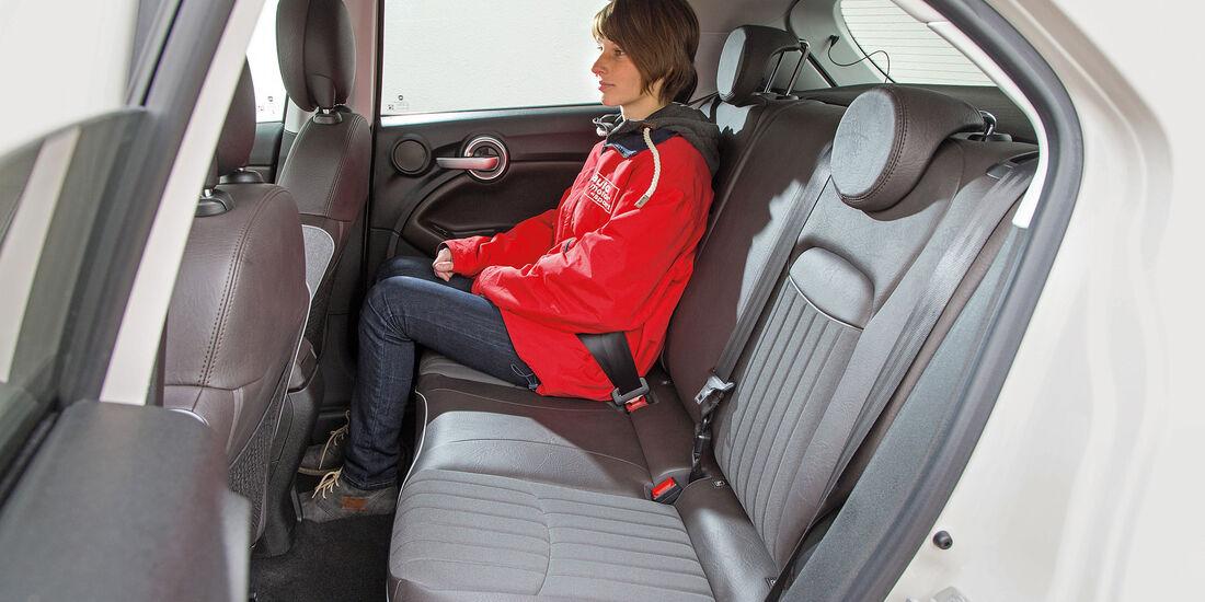 Fiat 500X 1.6 Multijet, Fondsitze
