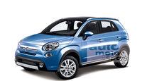 Fiat 500X Retusche