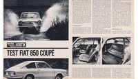 Fiat 850 Coupé, Alter Artikel