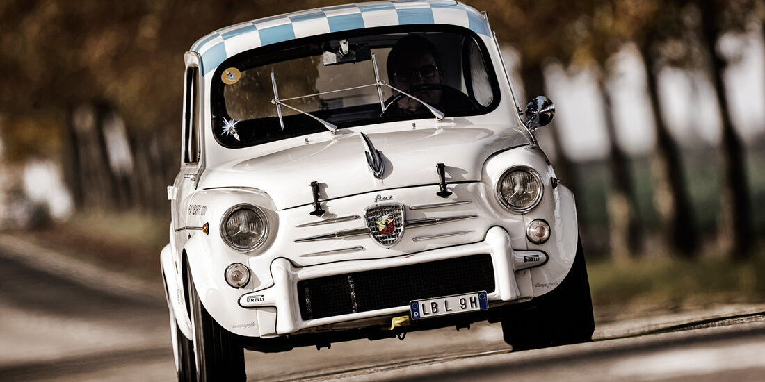 Fiat Abarth 1000 TC, Frontansicht
