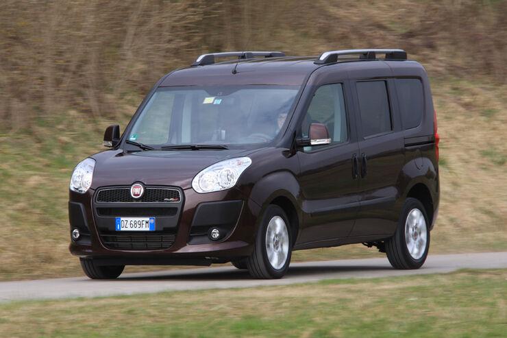 Fiat Doblo 2.0 16V Multijet, Frontansicht