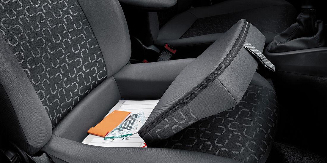 Fiat Doblo Cargo 2013, Beifahrersitz