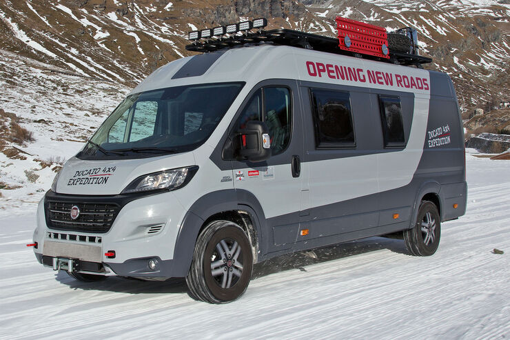 fiat ducato 4x4 expedition konzept das extremisten. Black Bedroom Furniture Sets. Home Design Ideas