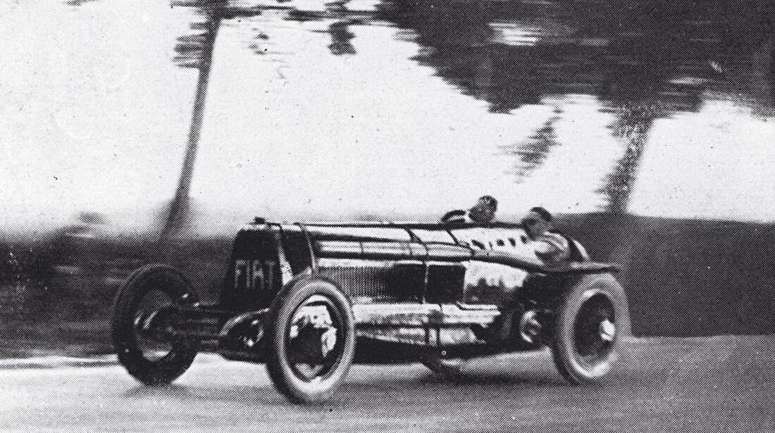 Fiat Mefistofele, Rekordfahrt, 1924
