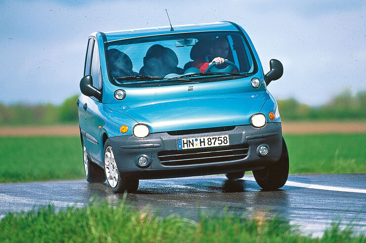 Fiat 500 Sport >> Fiat Multipla (1. Generation) - auto motor und sport