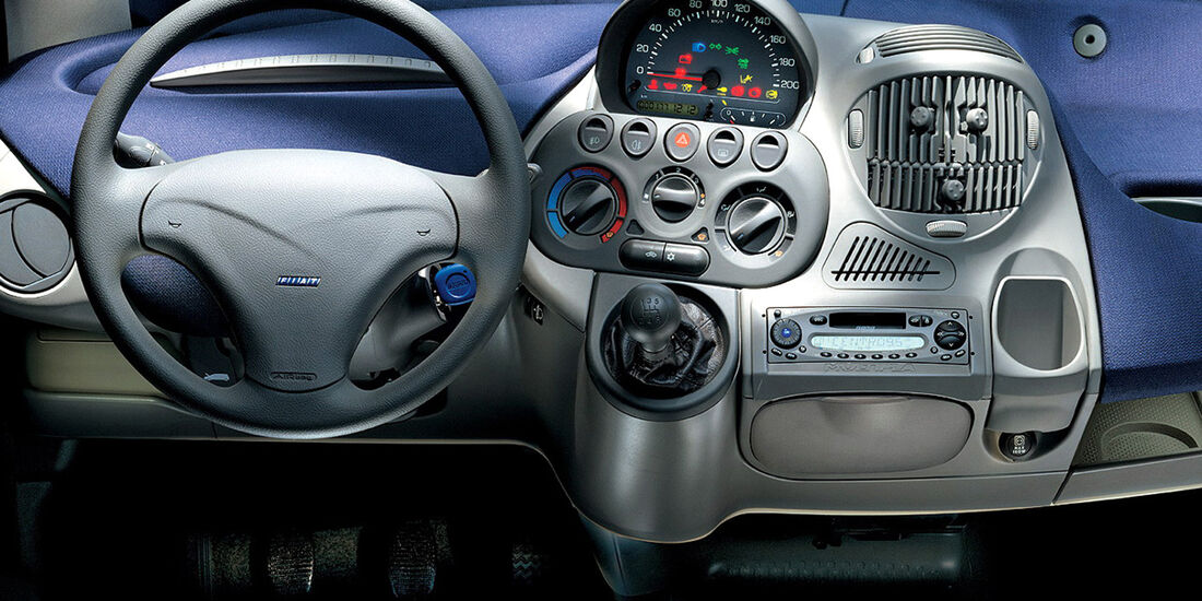 Fiat Multipla, Interieur