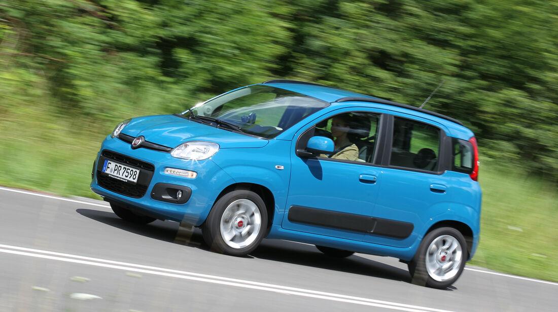 Fiat Panda 1.2 8V Lounge, Seitenansicht