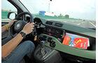 Fiat Panda 1.3 16V Multijet 4X4, Cockpit, Lenkrad