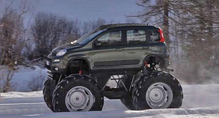 Fiat Panda Monster-Truck