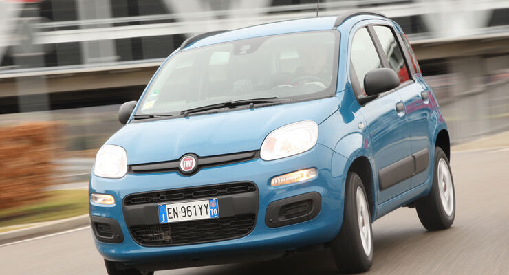 Fiat Panda Natural Power, Frontansicht