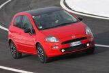 Fiat Punto 0,9 Twinair Start&Stopp Easy, Front, Kurve