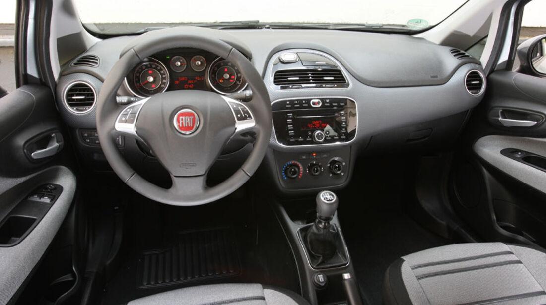 Fiat Punto Evo 1.4 16V, Cockpit