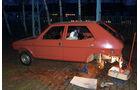 Fiat Ritmo S85 Supermatic, Aufgebockt