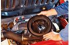 Fiat X 1/9, Ventilspiel, Luftfilteranlage, Detail