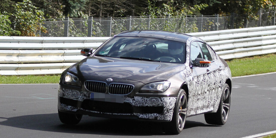 Fliegende Erlkönige, BMW M6 Grand Coupé