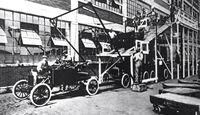 Fließband, Ford, 1909