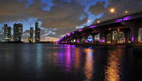 Florida mit BMW X5, Mac Arthur Causeway