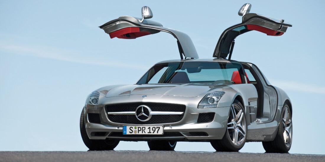Flügeltürer - Mercedes SLS AMG