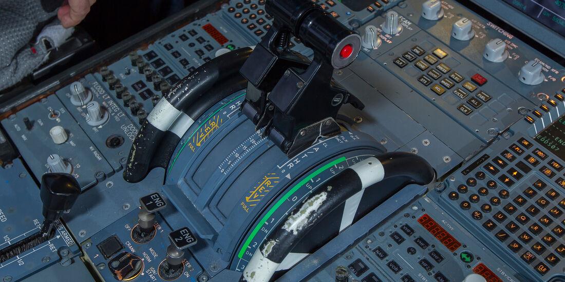 Flugsimulator, Steuerknüppel