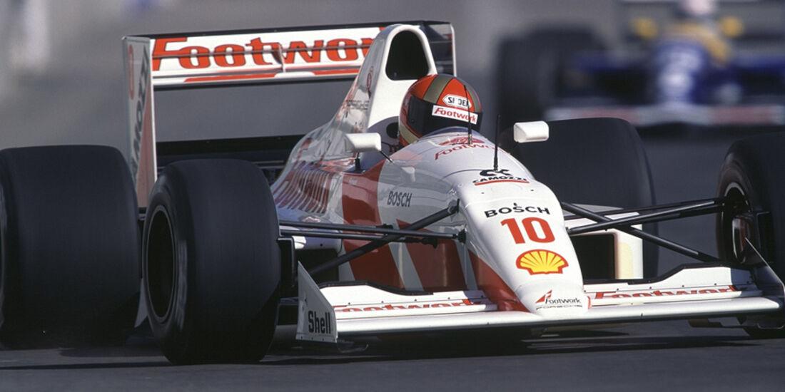 Footwork Porsch V12 1991