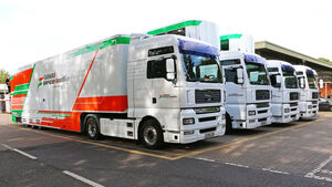 Force India - Basis - Silverstone