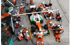Force India - Boxenstopp - Formel 1 2013