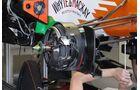Force India Bremsen - Formel 1 - GP Italien - 7. September 2012