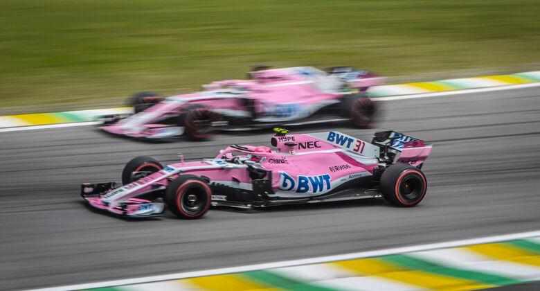 Force India - Esteban Ocon - Sergio Perez - GP Brasilien 2018