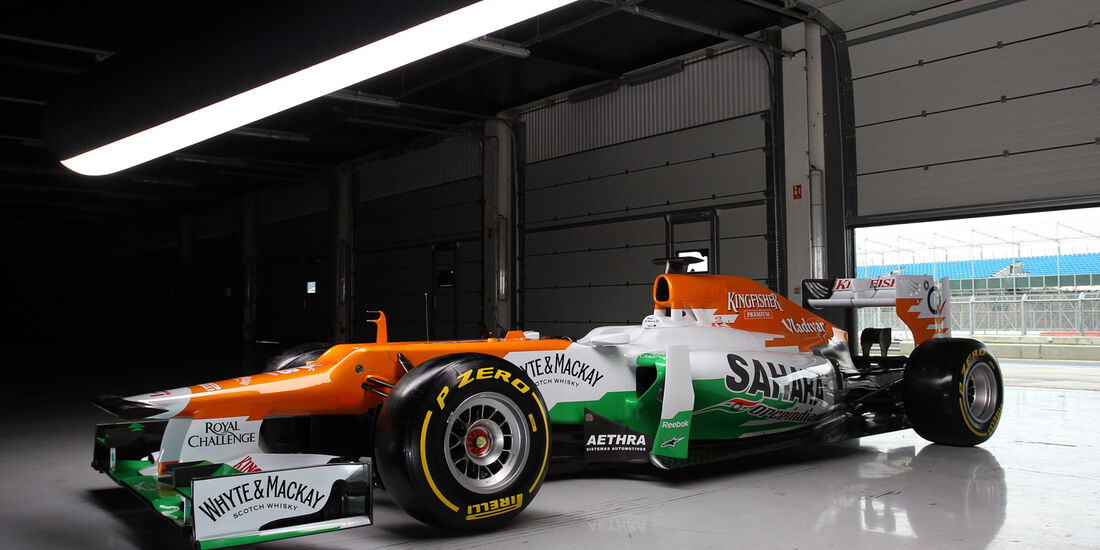 Force India Formel 1 2012