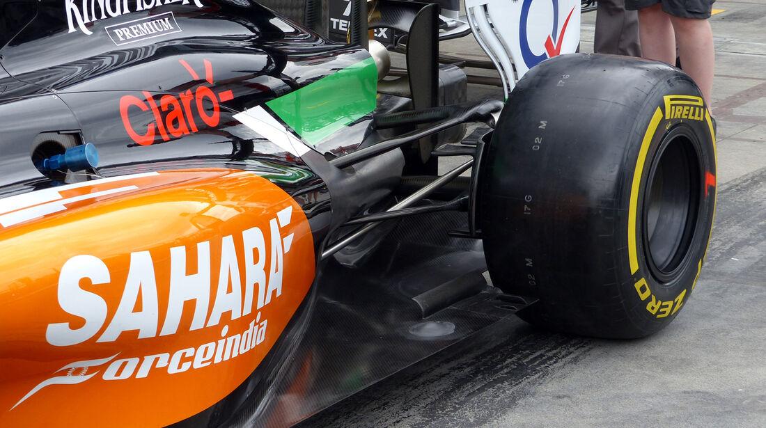 Force India  - Formel 1 - GP Australien - 15. März 2014
