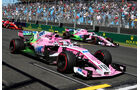 Force India - Formel 1 - GP Australien - Melbourne - 23. März 2018