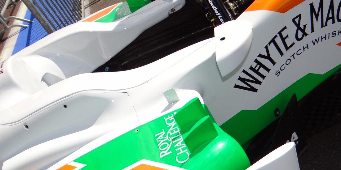 Force India - Formel 1 - GP Belgien - Spa - 30.8.2012