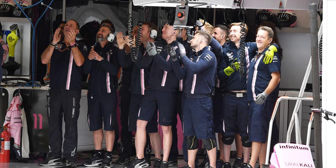 Force India - Formel 1 - GP Belgien - Spa-Francorchamps - 25. August 2018