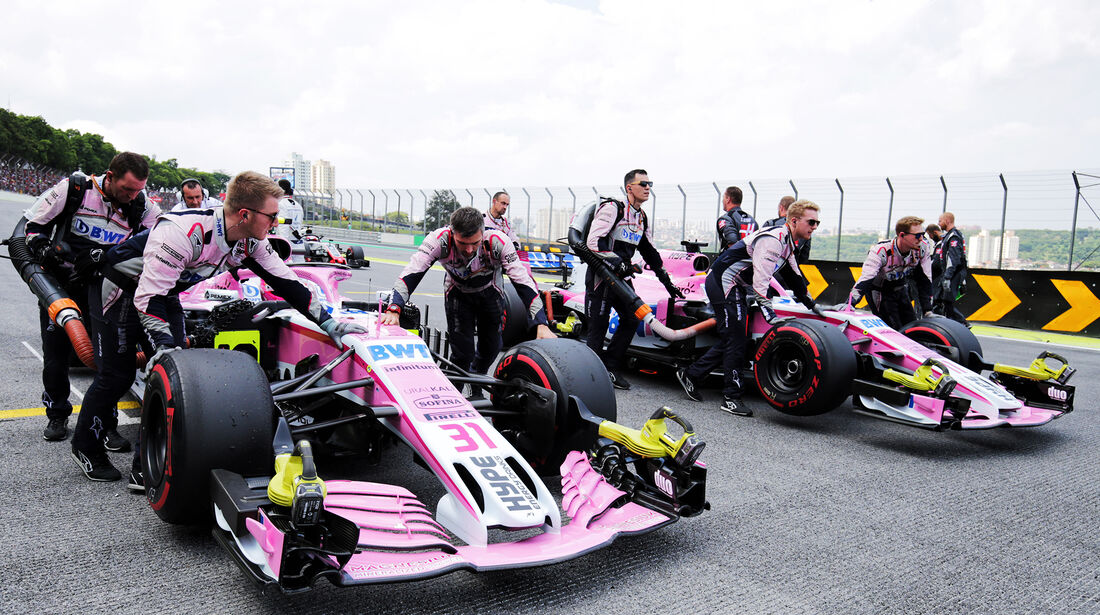Force India - Formel 1 - GP Brasilien 2018