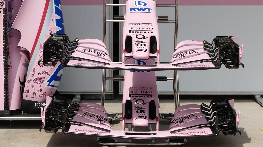 Force India - Formel 1 - GP Brasilien - 8. November 2017