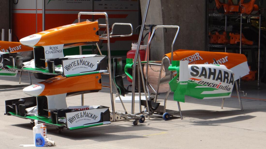 Force India - Formel 1 - GP China - 10. April 2013