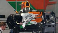 Force India - Formel 1 - GP China - 11. April 2012